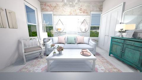 Shabby Chic Living Room - Living room - by catemoon123456