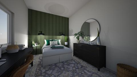 floral - Bedroom  - by Barbor23456