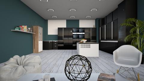 kitchen into living room - Classic - by ghhvghgvhvgvhvb