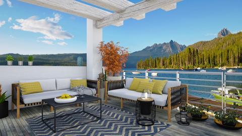 Terrace - Classic - Garden - by Annathea