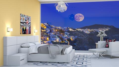 santorini remix - Bedroom  - by Doraisthe_nameofmydoggo12345