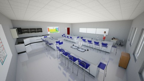 Science Lab - Classic - by interiordesignmajor013