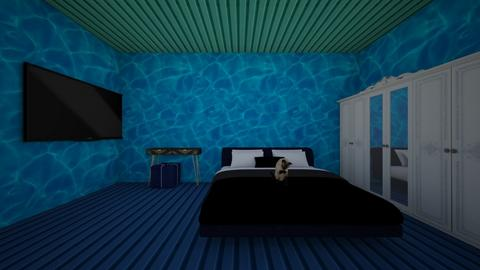 ocean - Glamour - Bedroom  - by charityu24