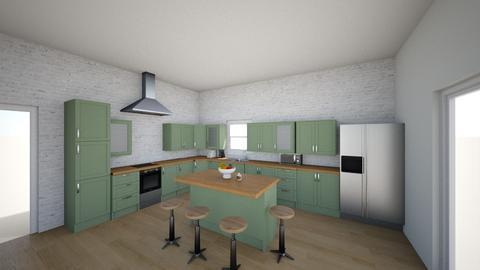 Emma Hillman - Kitchen - by MATTOS103