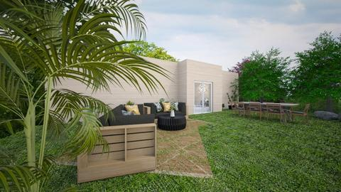 Back yard - Modern - Garden  - by Agamanta