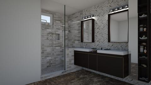 Brian G Masterbath - Bathroom - by rickglassinteriors