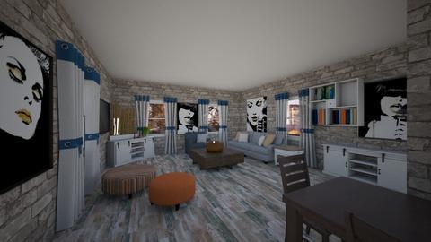 Contest OAK - Living room - by rosanebpf