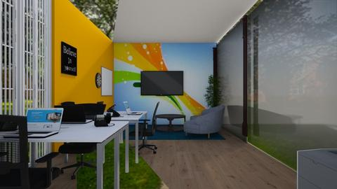 Center View - Office  - by Jeycie Designs