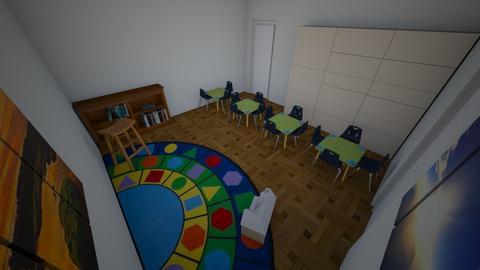 Classroom Design - by adelinefinger