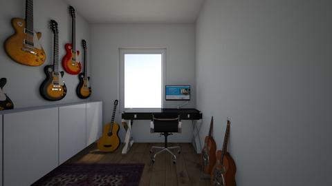 Muziekhok - Modern - Office  - by Winmau