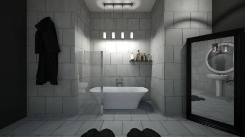 Refined Ruggedness  - Modern - Bathroom  - by XiraFizade