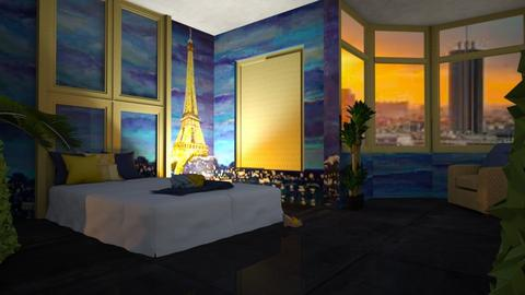 Paris Aesthetic - Bedroom  - by ilikalle