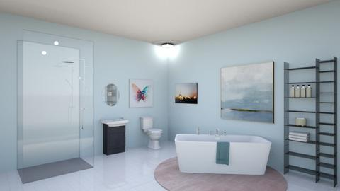 Bathroom Blues - Modern - Bathroom  - by V A N N Y