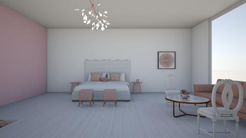 pink modern - Modern - Bedroom  - by Livby