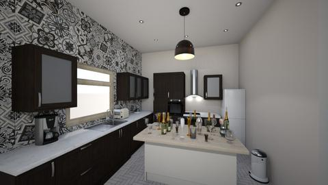 Kitchen - Modern - Kitchen  - by LinBell38