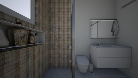 banheiro  - Bathroom  - by Gabriella Alves