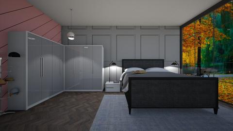 Dressing Room and Bedroom - Bedroom  - by Tanem Kutlu