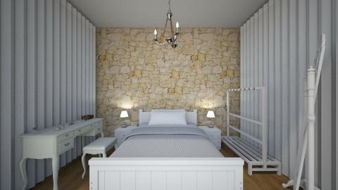living room - Rustic - Bedroom  - by eirinikost