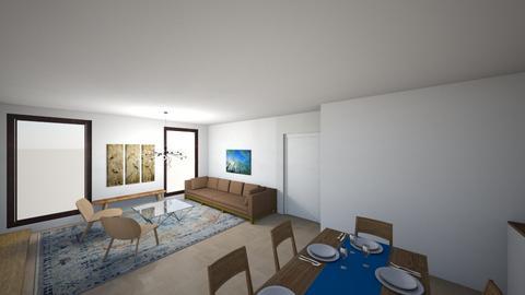 Full House 13 - Living room  - by gleidy
