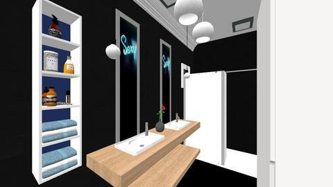 casa etaj - Bedroom - by Art3miys