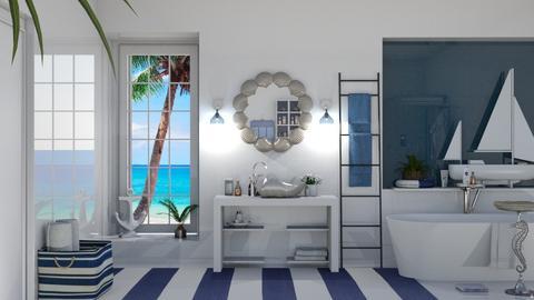 nautical - Bedroom  - by nat mi