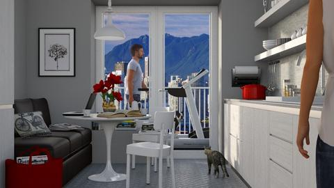 Walking the Dog - Eclectic - Kitchen - by Theadora