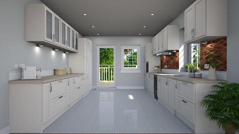 German Corner The Kitchen - Classic - Kitchen  - by Claudia Correia