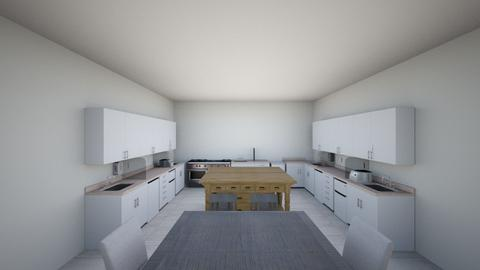 Symmetrical  - Kitchen  - by Peyton Griffin