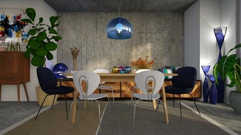 To Sir T Conran - Modern - Dining room  - by LuzMa HL