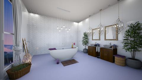 Lavender Bathroom - Bathroom  - by mandalea545