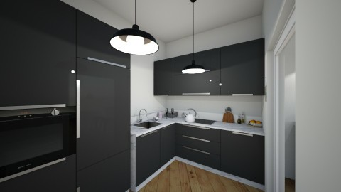 first atempt - Minimal - Kitchen  - by mariana andreea mateescu