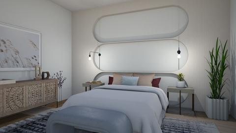 Aesthetic architecture - Bedroom  - by milk07Designs