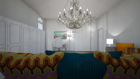 Meu quarto teste 1 - Classic - Bedroom  - by mariholmo