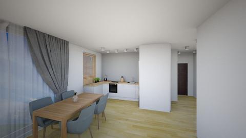 Kuchnia 4a - Living room - by KatarzynaLaszczyk