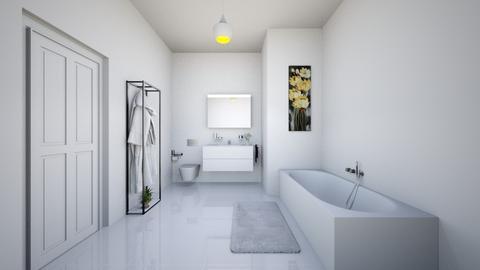 bathroom - Modern - Bathroom  - by eymuuuch