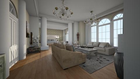 Mansion Edir Macedo  - Glamour - Bedroom  - by gianbarbieri