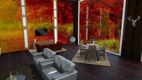 BarnSlivingRoom - Country - Living room  - by Gre_Taa