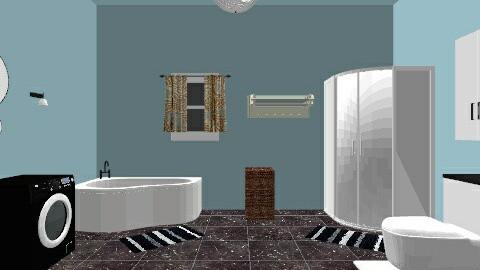 My bathroom - Modern - Bathroom - by Klaudia Zajdel