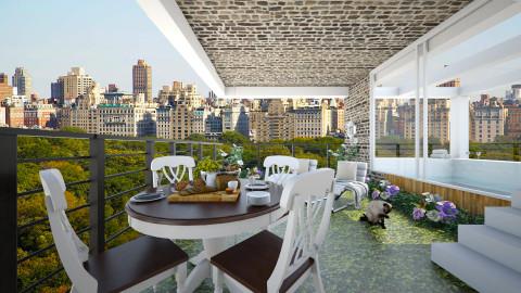 wellness garden rooftop - Garden  - by AnnaMull