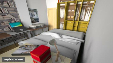 JP Bedroom - Modern - Bedroom  - by Tupiniquim