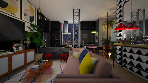 0906 - Living room - by diegobbf