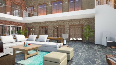 Mansion - Modern - Living room - by SoyJamesRody