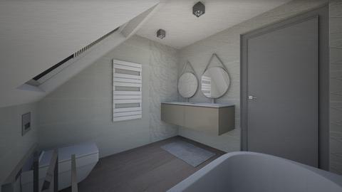FOT GIRLS BATHROOM - Modern - Bathroom  - by szaboi