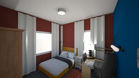 room1 - Modern - Bedroom  - by baniyarex