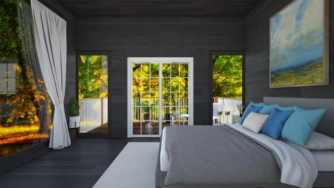 bedroom with balcony  - by IESdesign