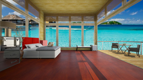 as - Rustic - Living room  - by Aom