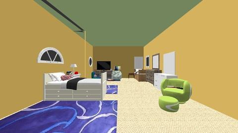 Shared Room Avi and Maya - Modern - Kids room  - by mayaariel