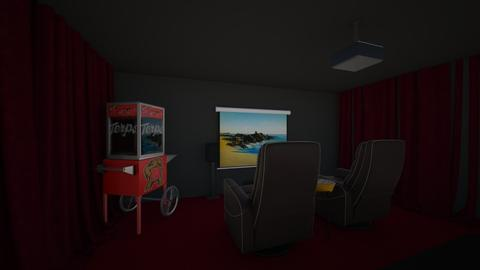 home cinema - Classic - Living room - by hannahlaing