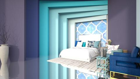 beach bedroom - Bedroom  - by nihalruttala