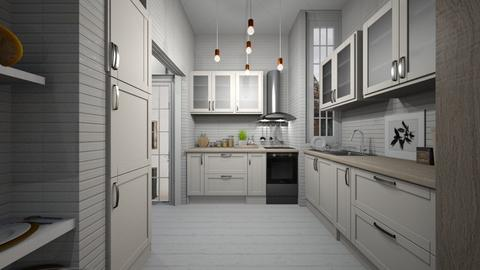 CAsa257Kitchen - Modern - Kitchen  - by nickynunes